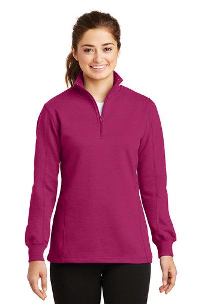 thyssenkrupp Ladies 1/4-Zip Sweatshirt