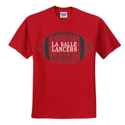 Men's Short Sleeve T-Shirt 50/50 Blend - Red
