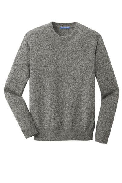 thyssenkrupp Men's Marled Crew Sweater