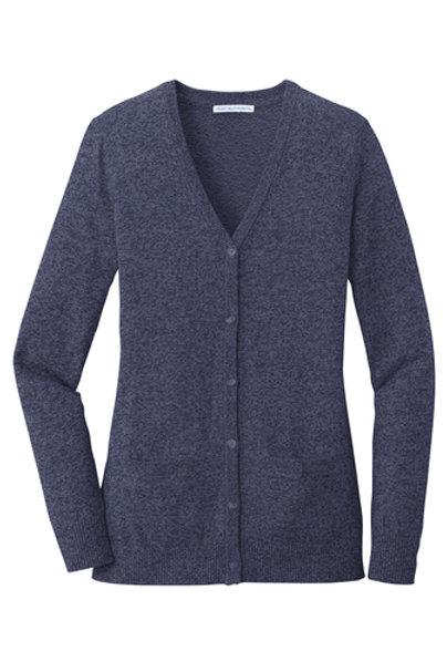 thyssenkrupp Ladies Ladies Marled Cardigan Sweater