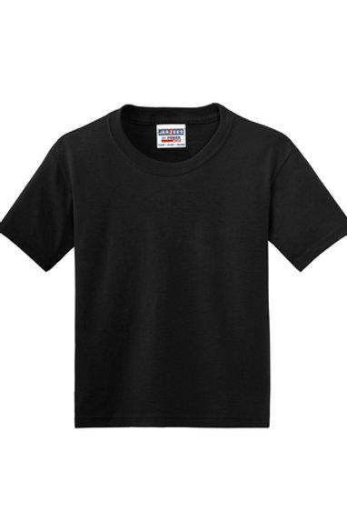 Nishime Youth JERZEES -50/50 Short Sleeve T-Shirt-Black