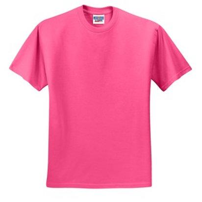 Lineshot Adult T Shirt Pink