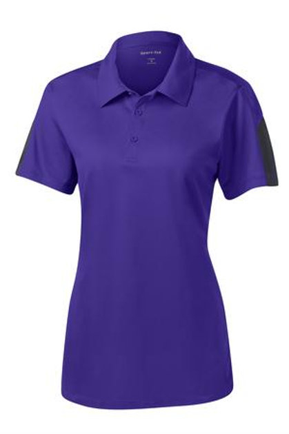 Lineshot Women's Polo Purple