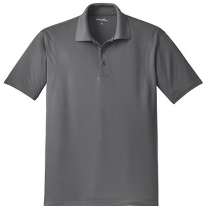 Men's Micropique Sport-Wick Polo - Gray