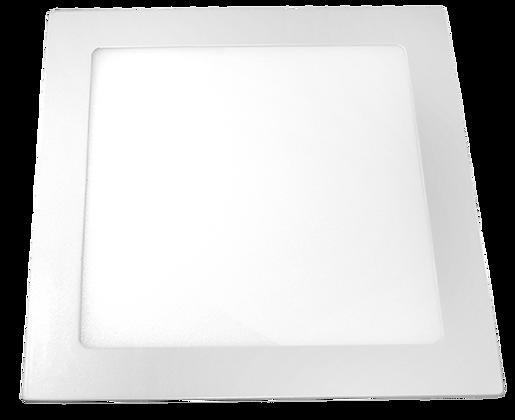 Panel LED Cuadrado De Incrustar 24W