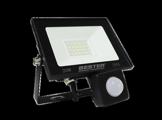 Reflector Super LED SMD con SENSOR 20W