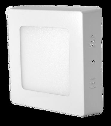 Panel LED Cuadrado De Sobreponer 6W
