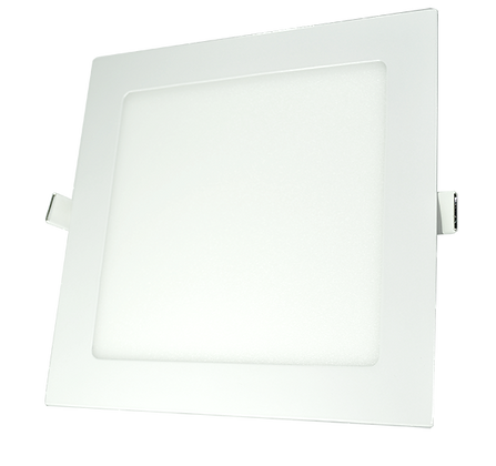 Panel LED Cuadrado De Incrustar 12W