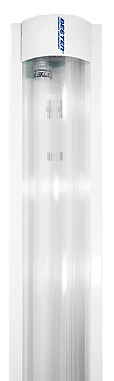 Luminaria LED lineal con Acrílico  2x16W