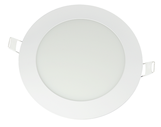 Panel LED Redondo De Incrustar 9W