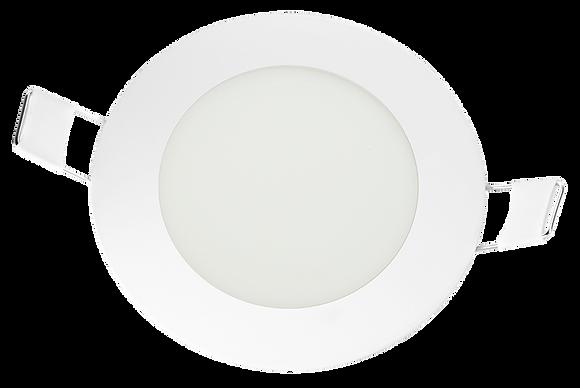 Panel LED Redondo De Incrustar 6W