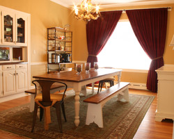 VA Farmhouse Table and Bench