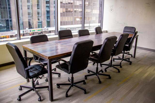 Industrial Conference Table