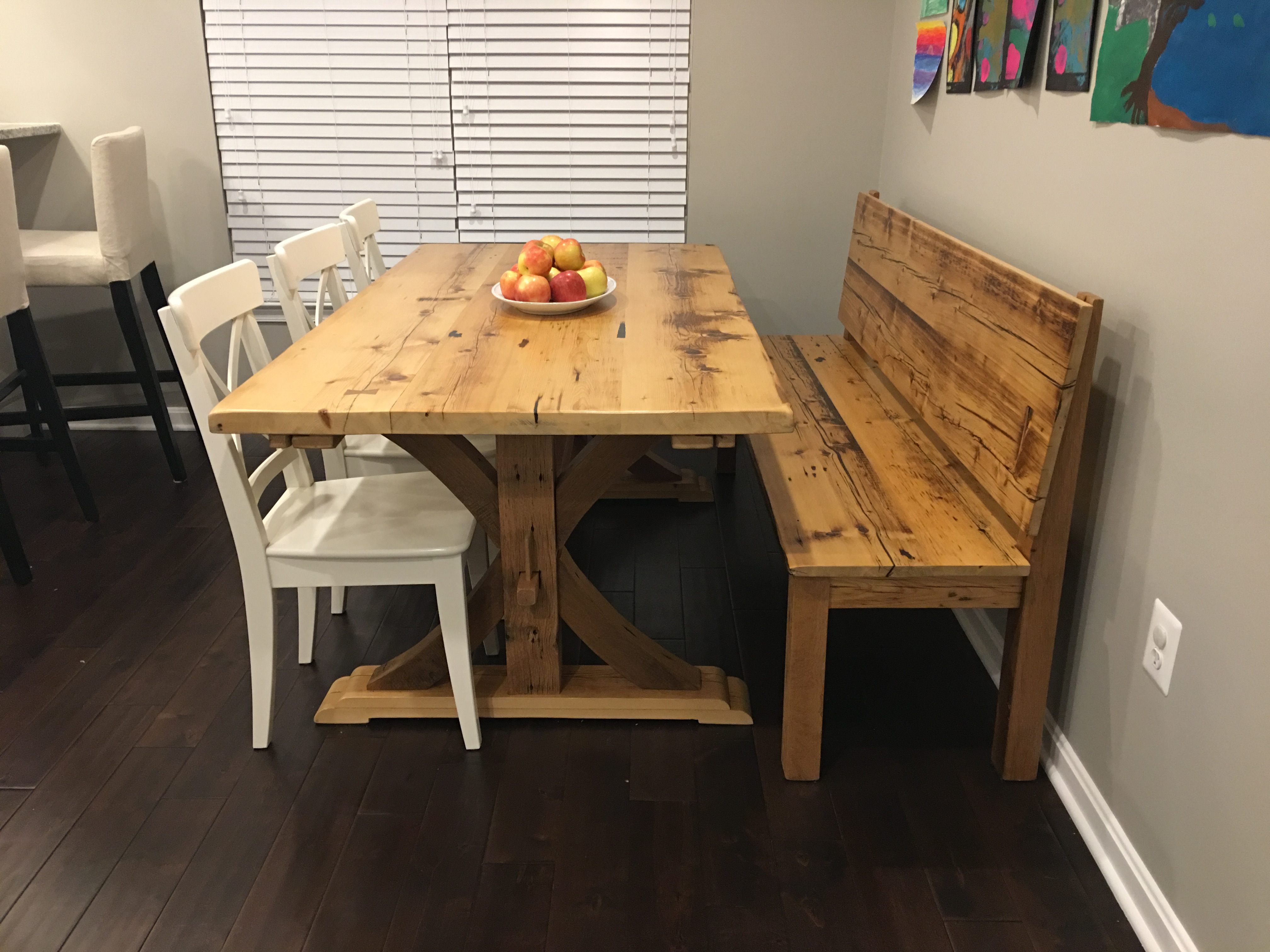 Trestle Table and Bench