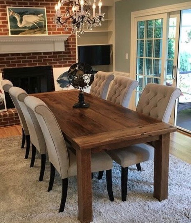 Mills Reclaimed Wood Dining Table