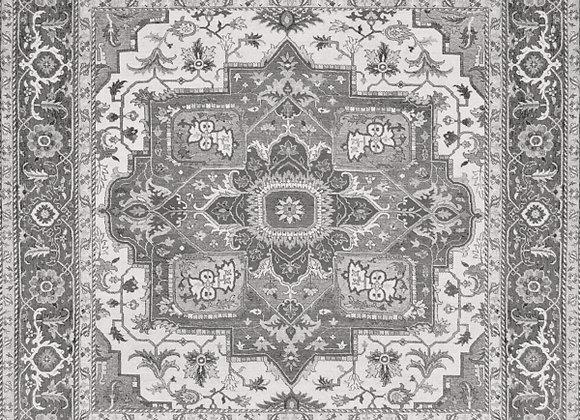60x60 cm Kilim Black Natural