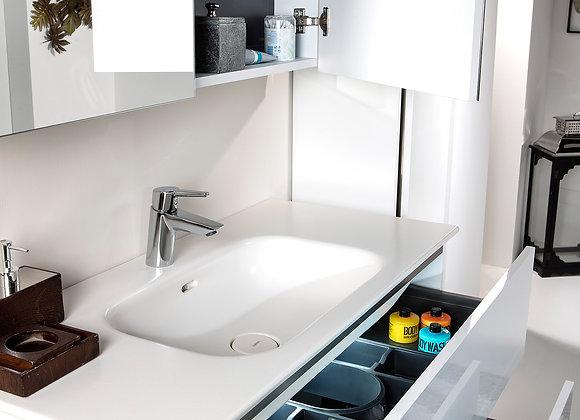 Valessi Due Çift Çekmeceli Banyo Mobilyası