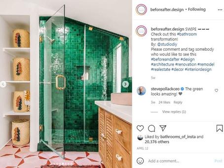 Banyolarınız için ilham kaynağı: 10 Instagram hesabı