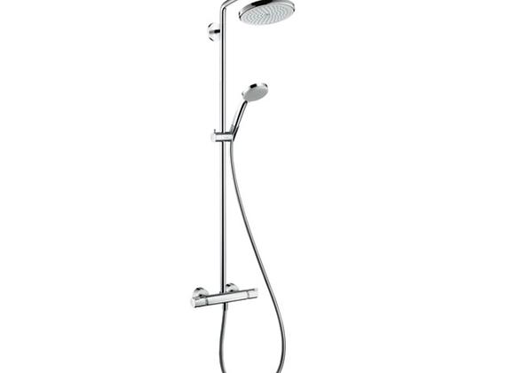 27188000 Croma Duş kolonu 220 1jet, EcoSmart. 9 lt/ dk, termostat ile