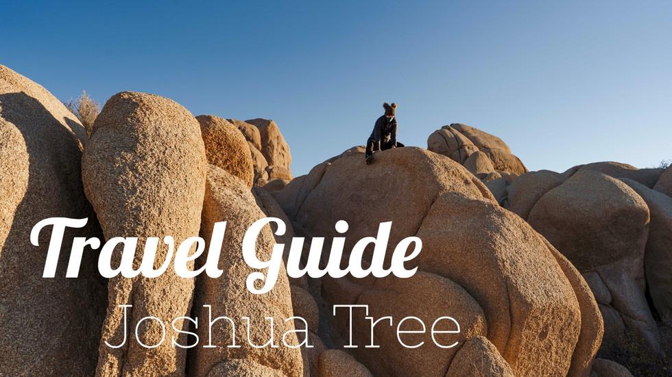 Travel Guide: Joshua Tree