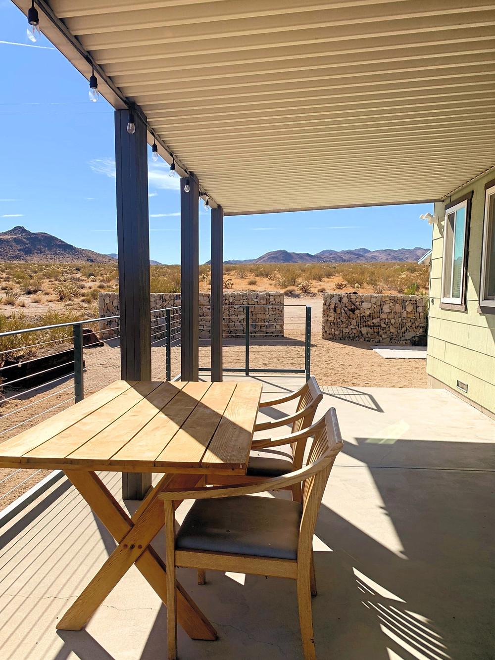 Joshua Tree Twenty Nine Palms Airbnb in the desert