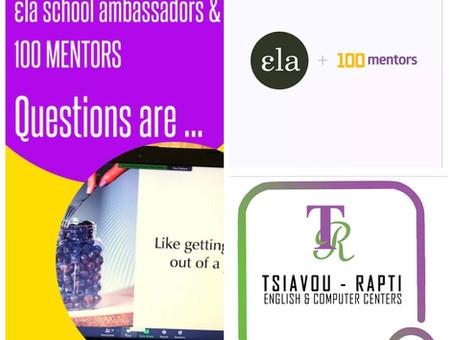 ELA School Ambassadors & 100 Mentors