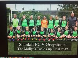 GirlsvMolloy OToole Memoral Cup Final Under 14s 2017