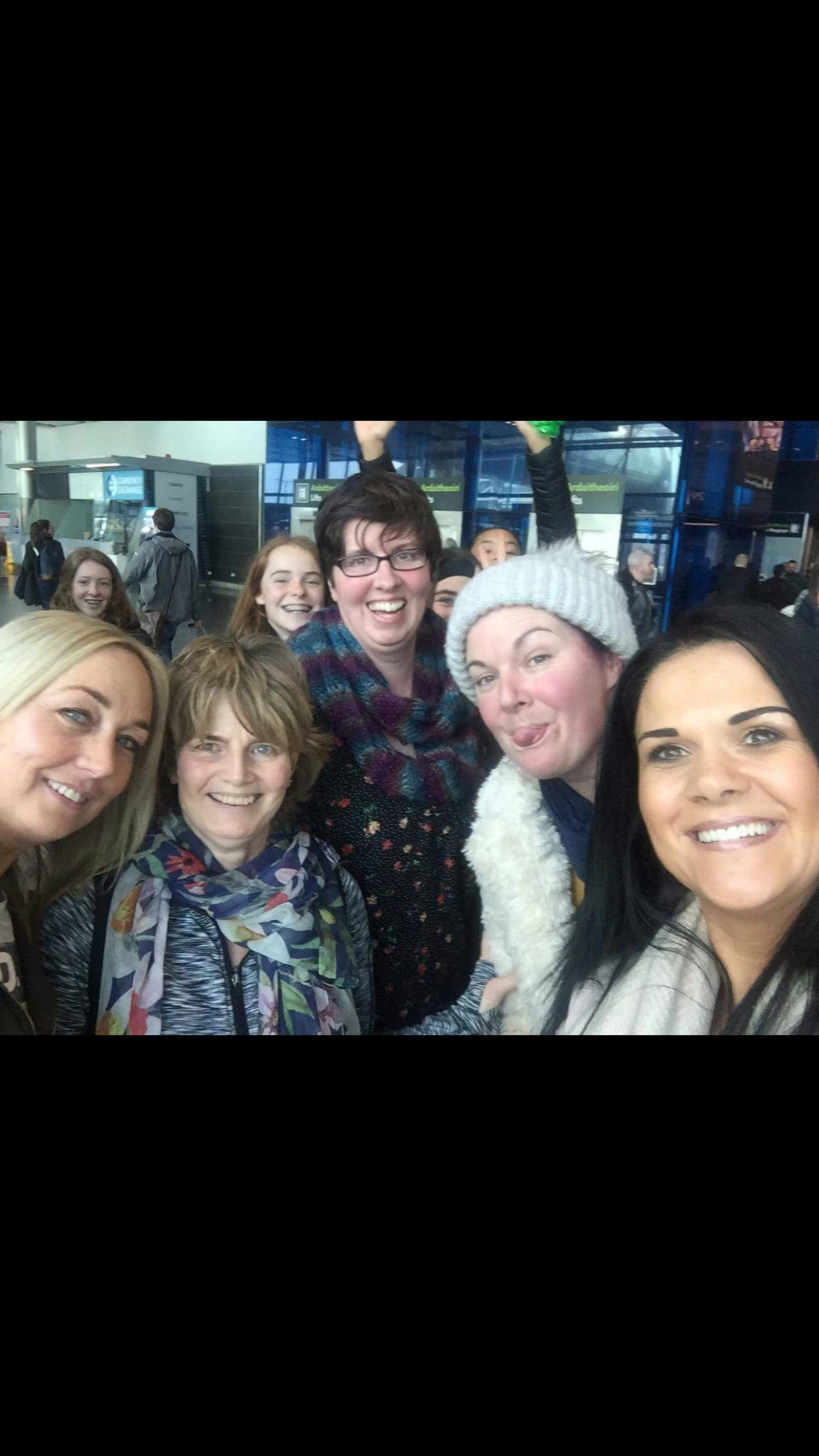 Girls U15 Mums on Tour..