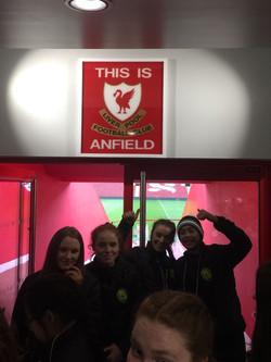 Girls U15 Anfield.