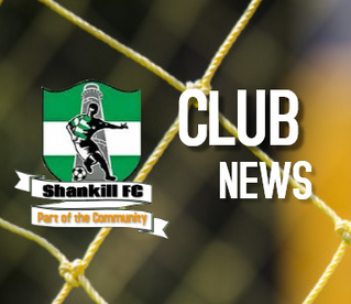 Summary of Shankill FC activities during 2019 calendar year