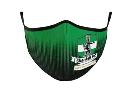 Shankill FC Face Mask