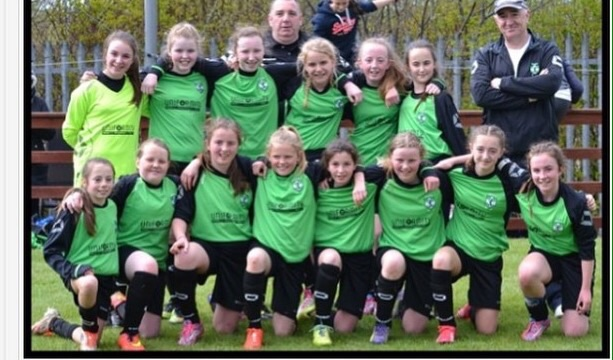 Girls League & Cup Winners 2014