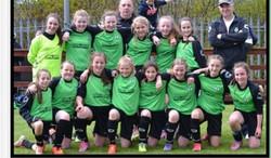 Girls League & Cup Winners 2014