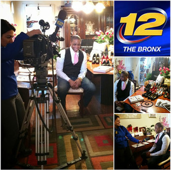 Bronx News Channel 12 - First interview
