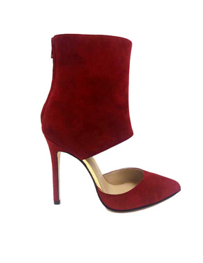 Red - Suede
