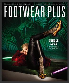 Footwear Plus Magazine - June 2017 Cover
