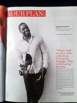 Sherwayne in Success Magazine - January 2017 Issue