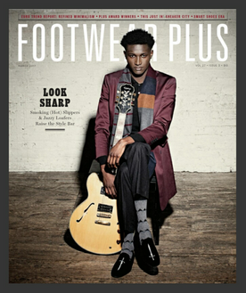 Footwear Plus Magazine - March 2017 Cover