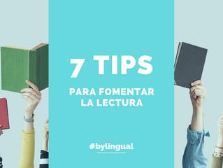 📚 ¿Cómo inculcar el hábito de lectura? 7 TIPS para hacerlo más fácil.