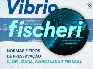 Vamos falar sobre qualidade: organismo-teste Vibrio fischeri