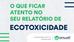 Qualidade - O que ficar atento no seu relatório de ecotoxicologia?