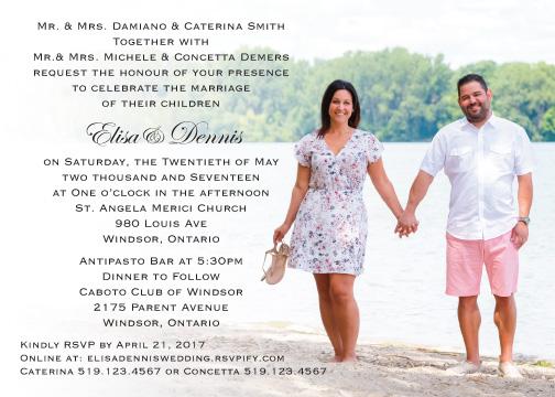 Enza & Dan invite