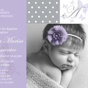 Custom Baptism Invitation