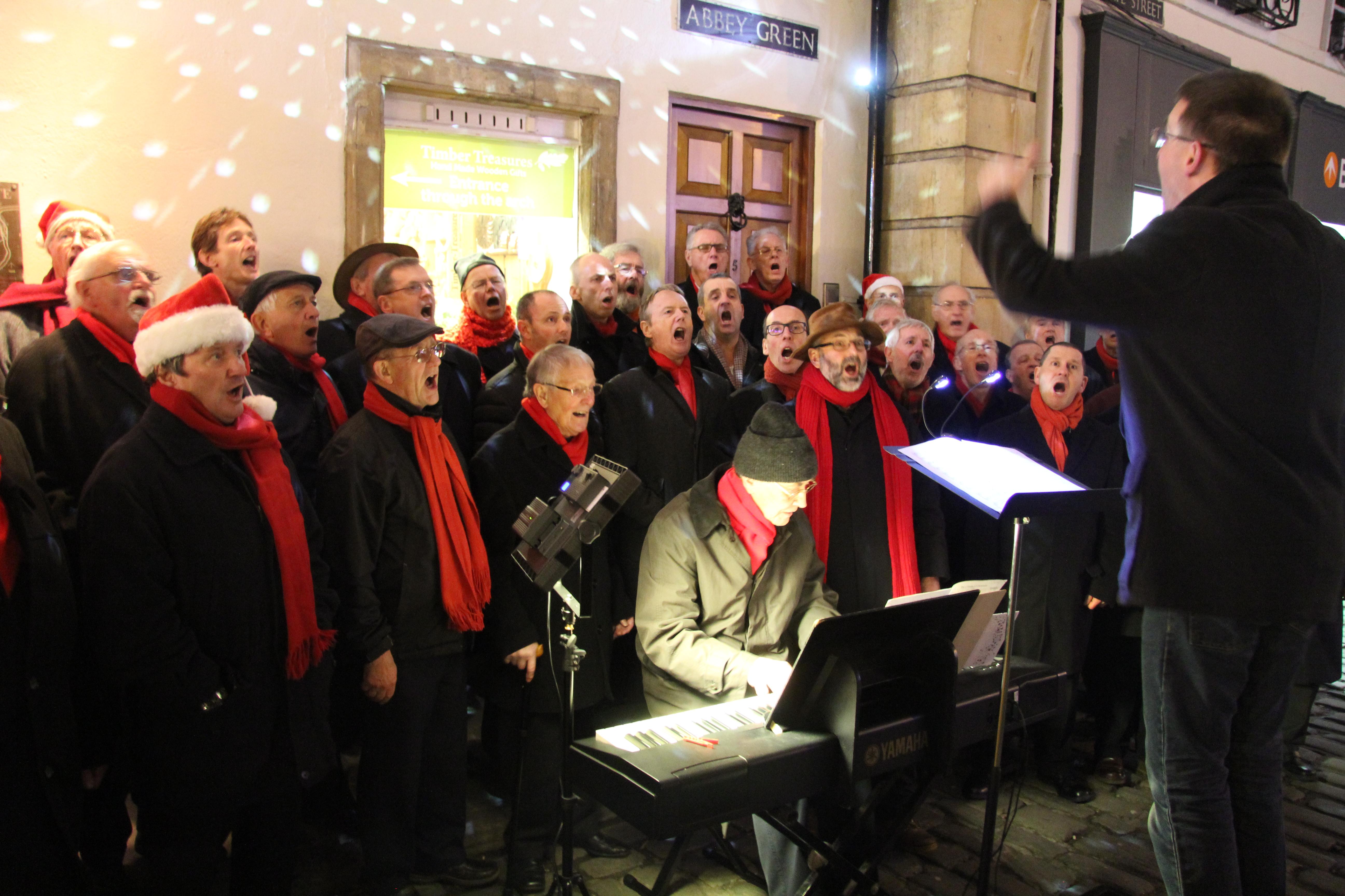 MMVC Christmas Carol Singing 2015