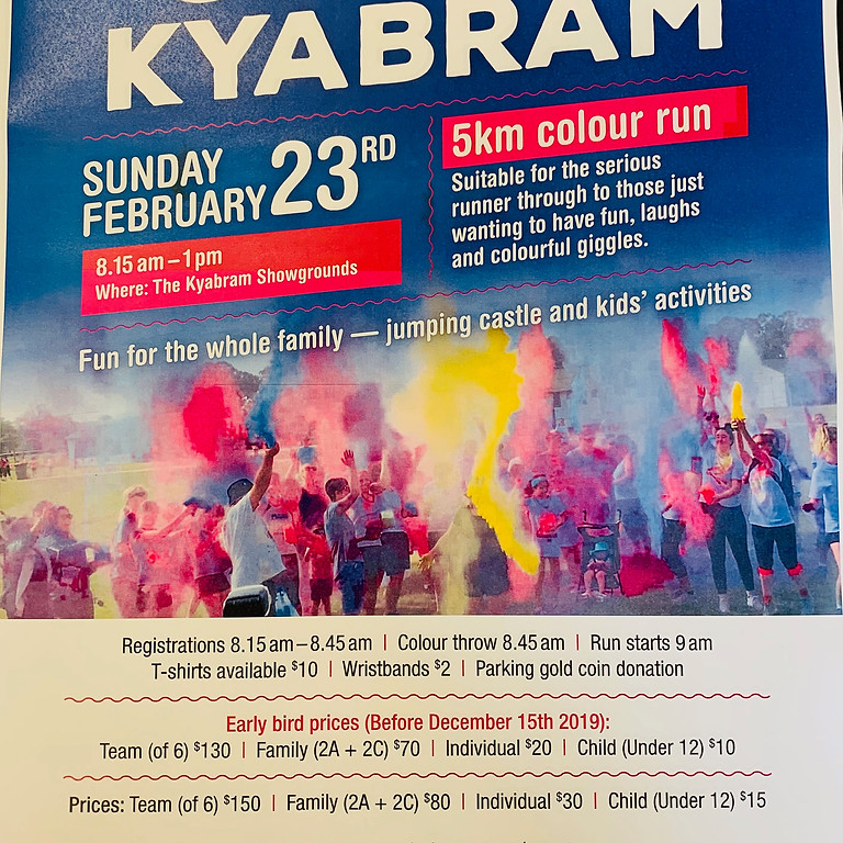 Colour Kyabram 04 (2020) ONLINE EVENT
