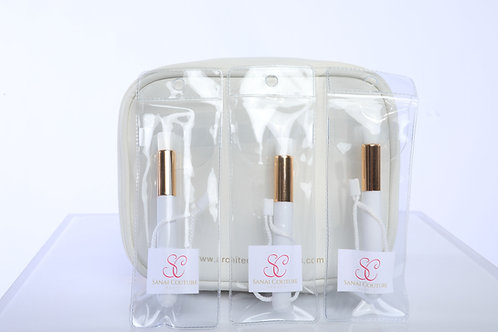Lashing Cleaning/Cleansing Brush with Bag and Lash Bath