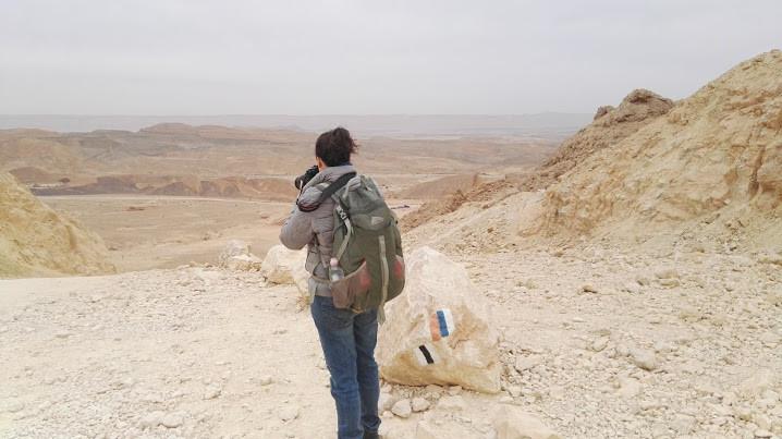 אורלי לנדאו צלמת הבית של מאירות שביל ישראל