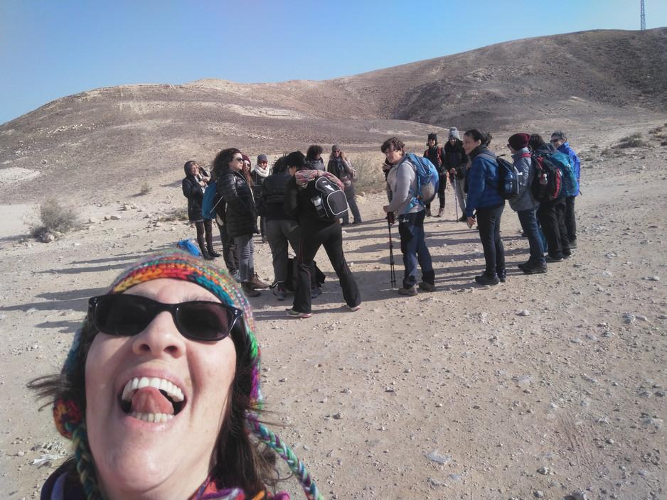מאירות שביל ישראל במכתש הגדול