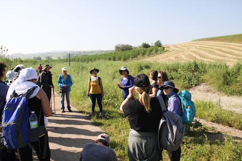 מאירות שביל ישראל בנחל תבור- מעגל היכרות