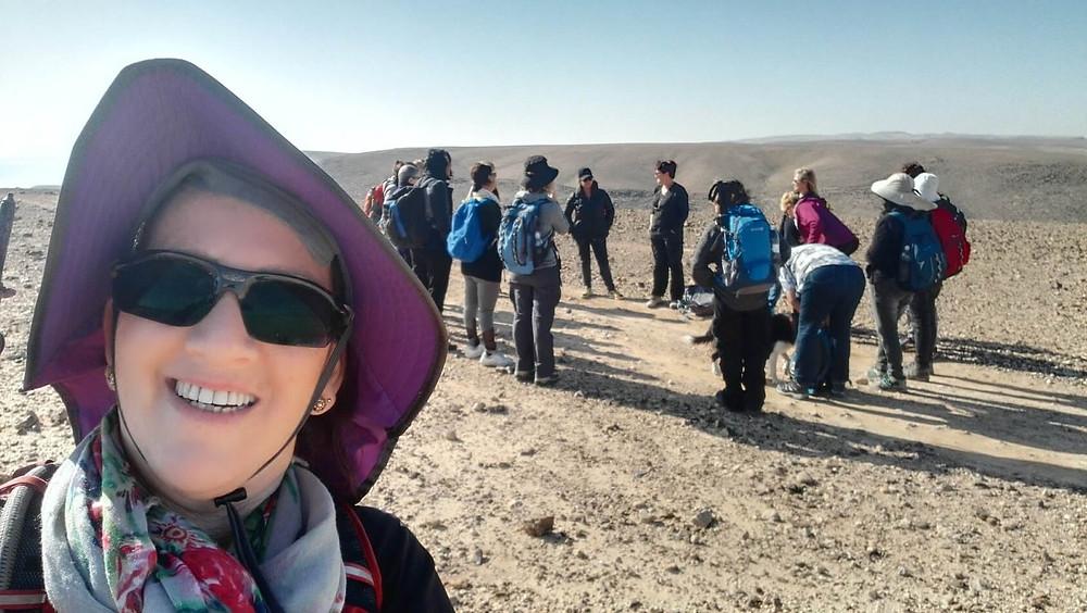 מאירות שביל ישראל במדבר יהודה- מעגל היכרות